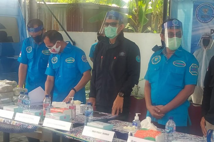 BNN gagalkan penyelundupan 47 kg sabu-sabu