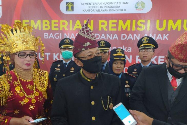 8 napi korupsi di Bengkulu dapat potongan masa tahanan