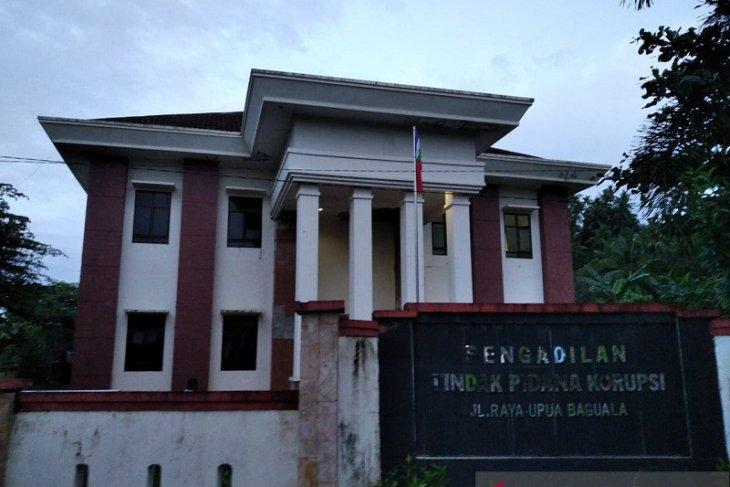Kantor Pengadilan Tipikor Ambon sudah kosong setelah gempa tektonik 2019