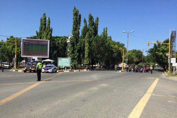 Peringati detik-detik proklamasi,Dirlantas Polda Aceh tempatkan sepuluh peronel di persimpangan utama