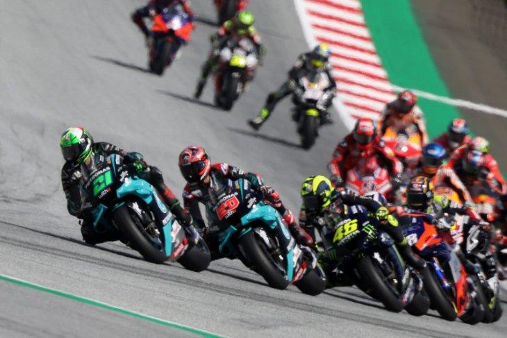 Ini pesan Rossi pascatabrakan mengerikan di GP Austria