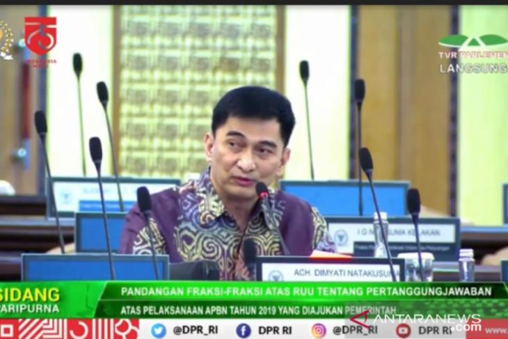 Anggota Komisi III kritisi anggaran untuk DPR yang diberikan Menkeu
