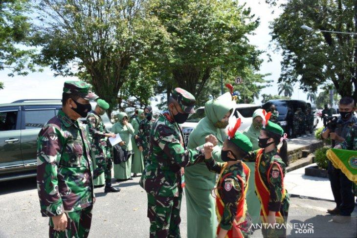 Pangdam Heri Wiranto lakukan kunjungan pertama ke Korem 091/ASN