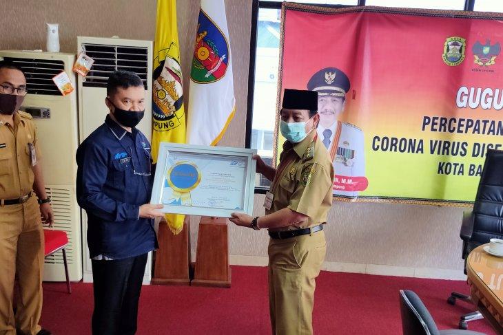 "Bandarlampung wins ""Best City for Online Population Census"" awards"