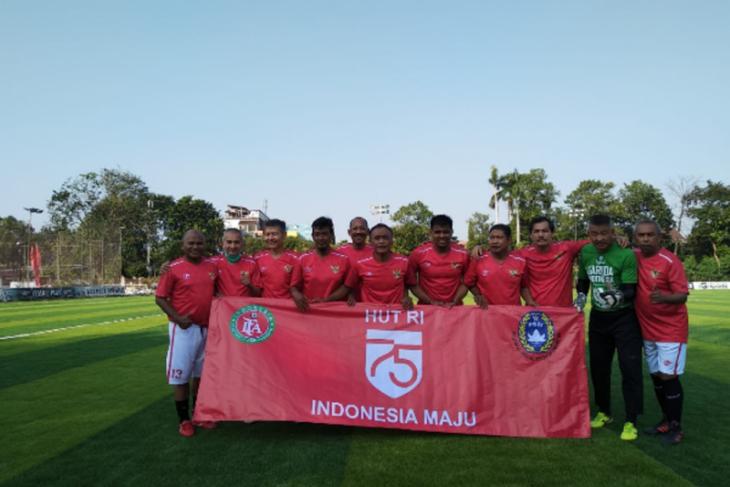 Legenda Sepak bola Indonesia kembali ke lapangan hijau