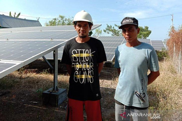 Sukanya nikmati listrik EBT di Pulau Saugi