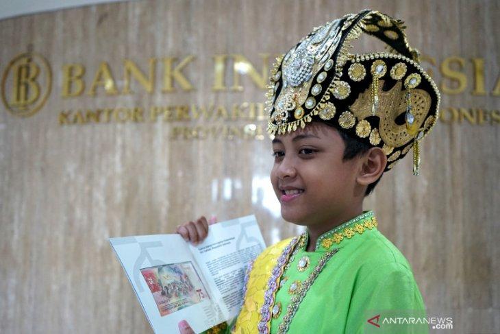 Mengenal Aditya Perpatih sosok anak dalam uang baru Rp75 ribu