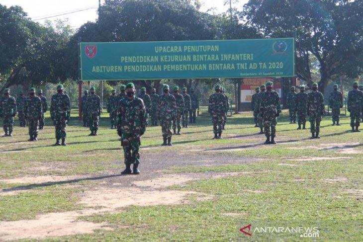 Rindam VI/Mulawarman cetak 117 prajurit Infanteri saat pandemi