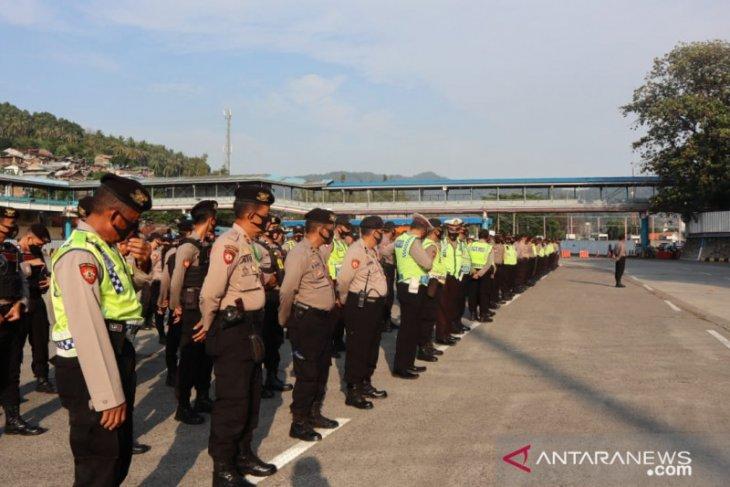Kapolres Cilegon Pimpin Apel Gelar Pasukan Pengamanan Libur Panjang