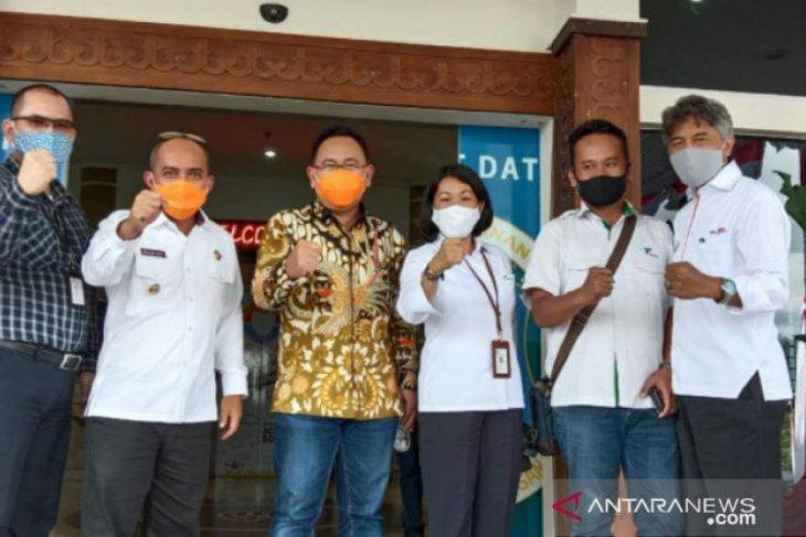 Walikota Pangkalpinang bersama Pelindo tinjau lokasi pelabuhan baru