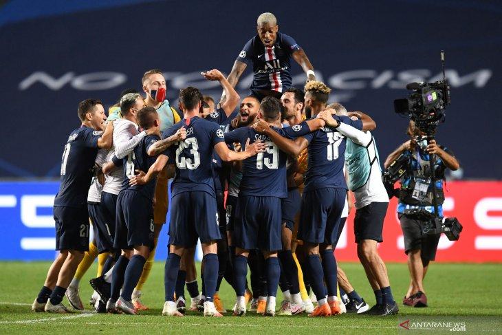 PSG menembus final Liga Champions untuk pertama kalinya