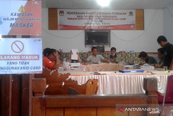 KPU Rejang Lebong rampungkan verfak dukungan perbaikan calon independen