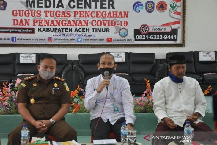 Delapan pasien COVID-19 di Aceh Timur masih dirawat