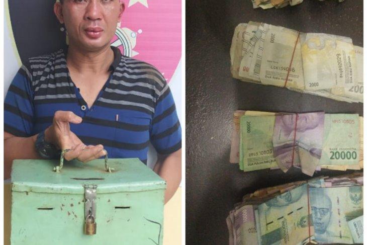 Polsek Binjai Utara amankan pencuri kotak infak Masjid Istiqomah