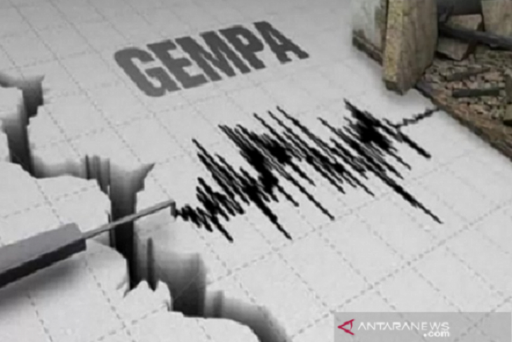Gempa magnitudo 6,9 guncang Laut Banda tidak berpotensi tsunami