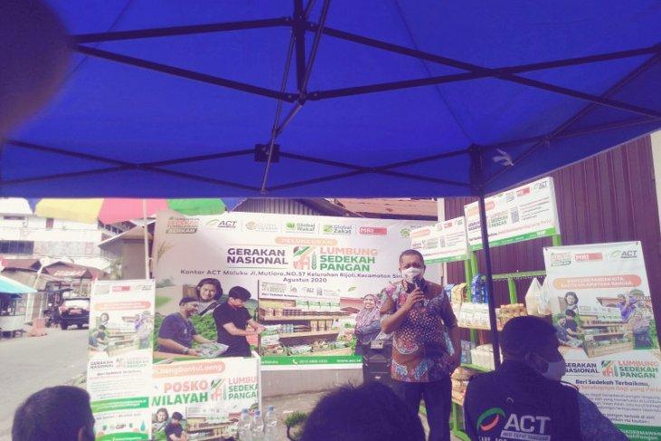 Dinas Ketahanan Pangan Maluku apresiasi peluncuran Lumbung Sedekah Pangan ACT