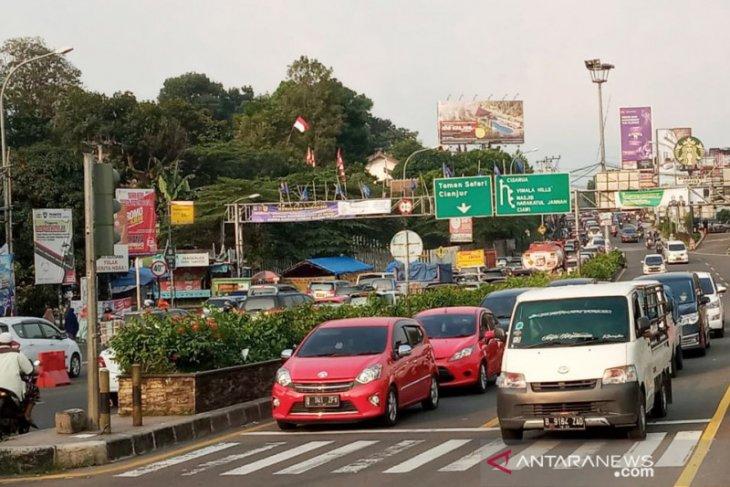 360 petugas dari Polres Bogor disiagakan di Jalur Puncak Bogor