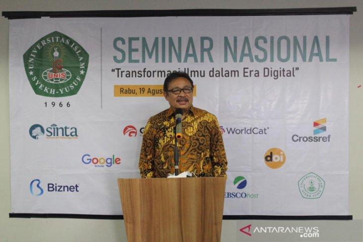 UNIS Tangerang berikan bantuan kuota internet ke mahasiswa