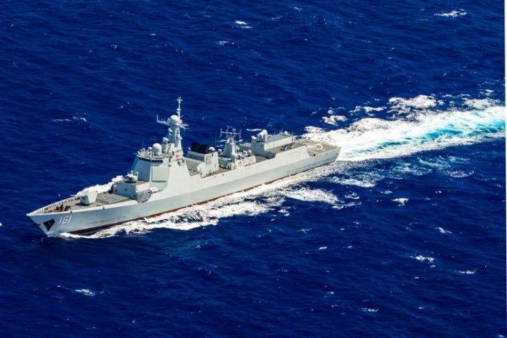 China kirim pasukan lengkap ke Laut China Selatan dan Selat Taiwan