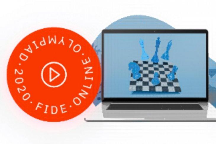 Tim  Indonesia menyerah 1,5 - 4,5 dari China di olimpiade catur online