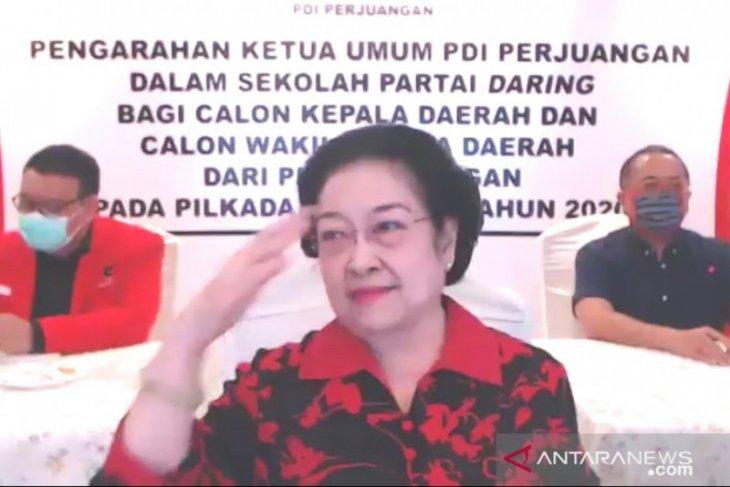 Megawati intruksikan calon kepala daerah PDIP tiru kepemimpinan Jokowi