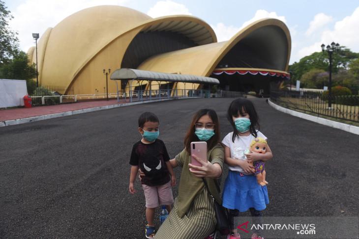 Libur Hari Raya Nyepi, TMII alami lonjakan jumlah pengunjung
