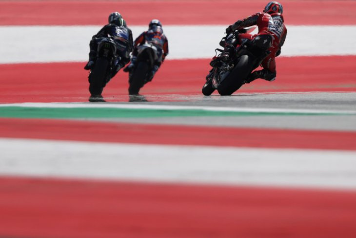 Starting grid GP Styria