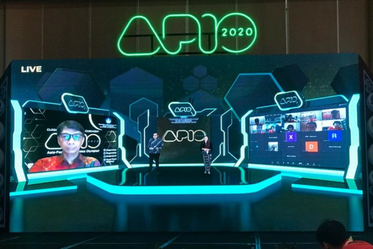Indonesian team bags six medals at APIO 2020 held online