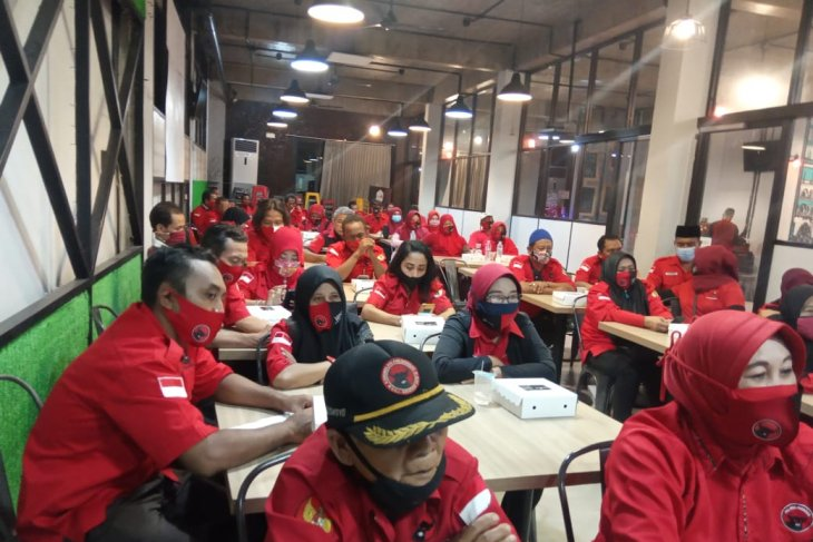Kader PDI Perjuangan solid menangkan Cawali Surabaya pilihan Megawati