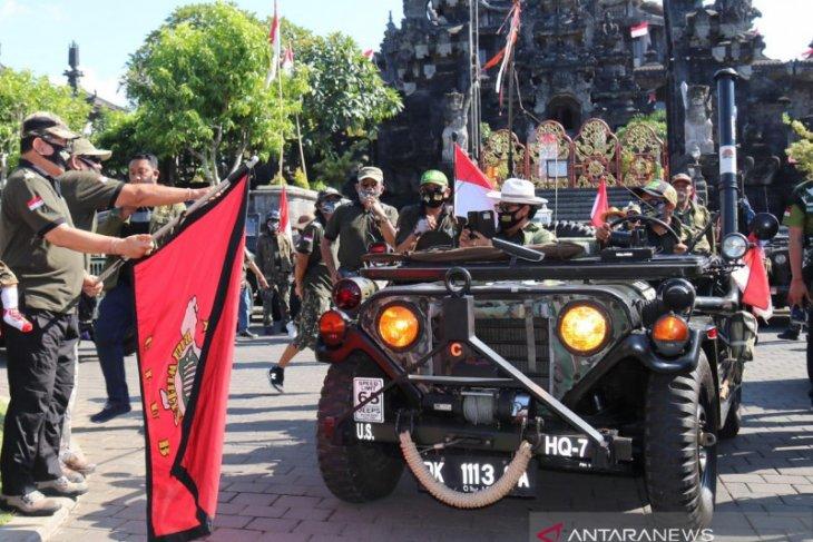 Wagub Bali lepas touring Willys Club tebarkan vibrasi sehat di tengah pandemi COVID-19
