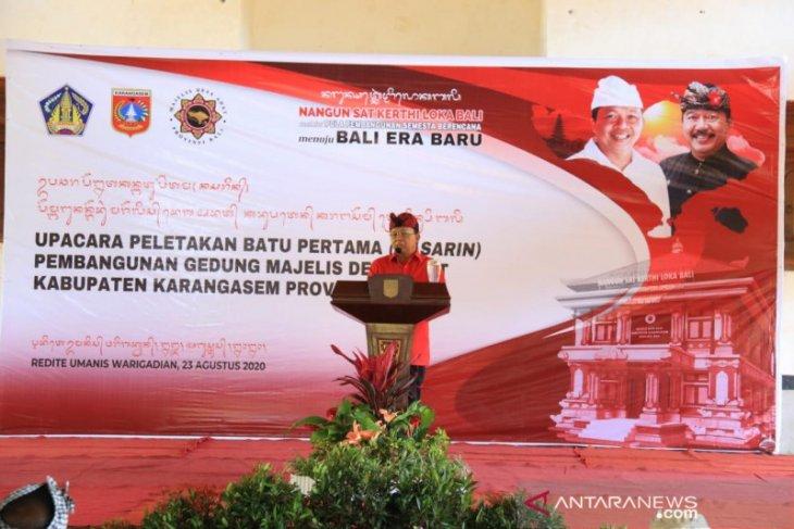Gubernur Bali bangun Gedung MDA Karangasem