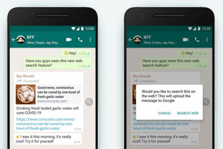WhatsApp rilis dua versi beta baru