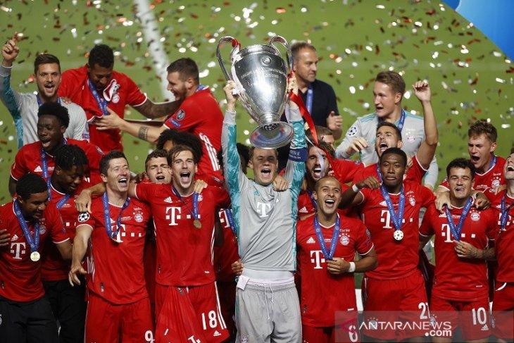 Daftar juara Liga Champions,  Bayern samai koleksi trofi  Liverpool