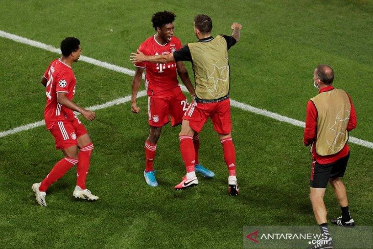 Gol Tunggal Coman antar Bayern juarai Liga Champions