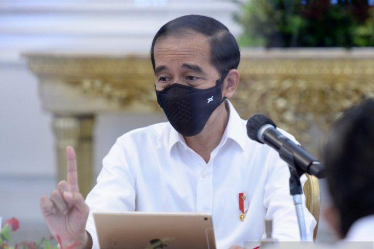 Presiden: Penegak hukum yang memeras jadi musuh bersama