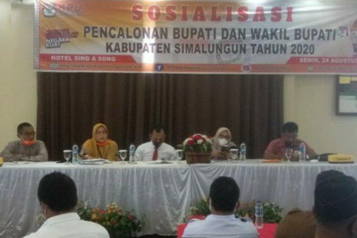 KPU sosialisasikan pencalonan Bupati dan Wakil Bupati Simalungun 2020