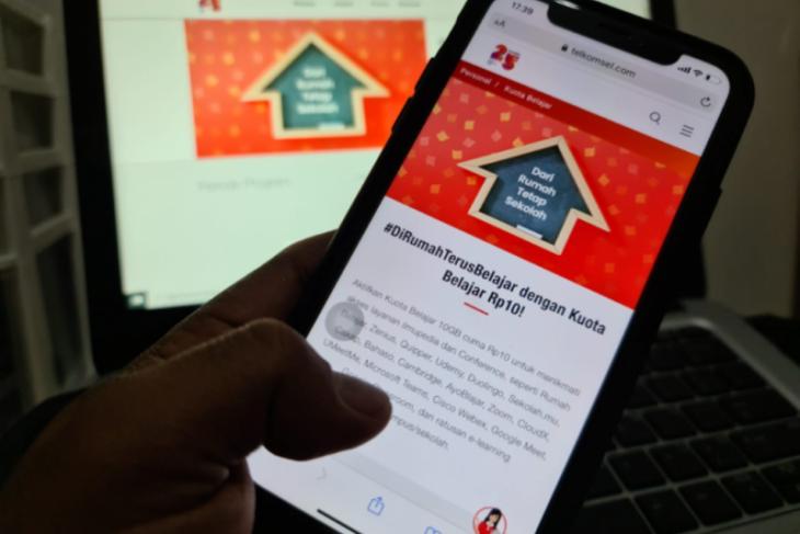 Telkomsel luncurkan paket Kuota Belajar 10GB