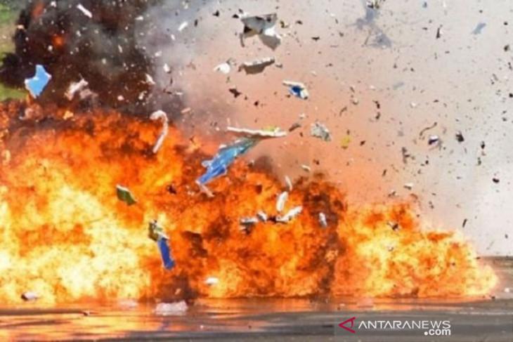 Terjadi ledakan di taman di Utara Teheran