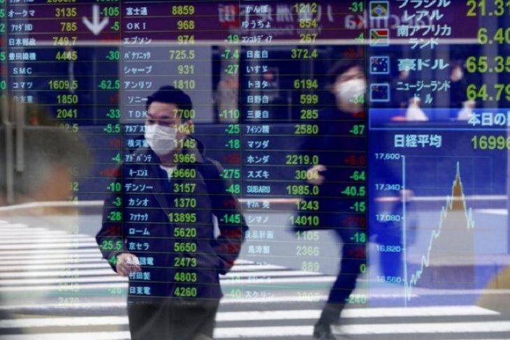 Saham Tokyo bervariasi dipicu kenaikan Wall Street