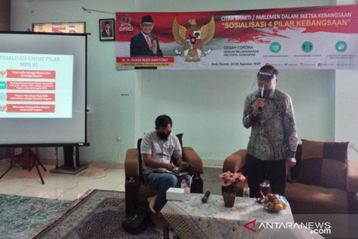 IBH, anggota DPRD Jabar sosialisasi Empat Pilar MPR