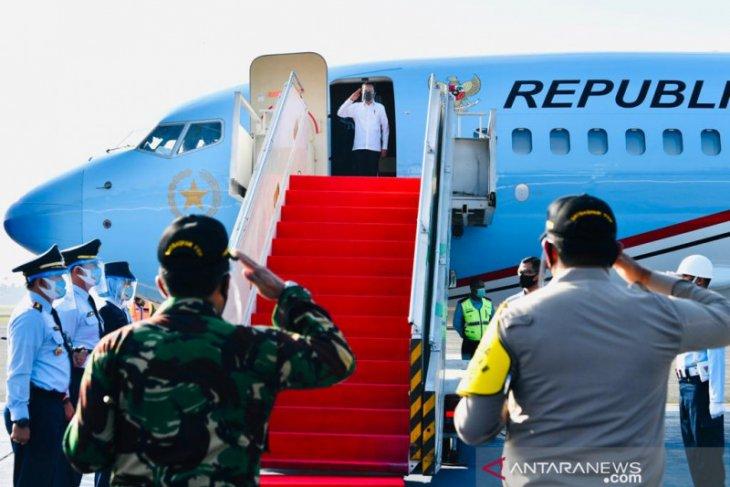 Presiden ke Aceh, meresmikan jalan tol dan tinjau penanganan COVID-19