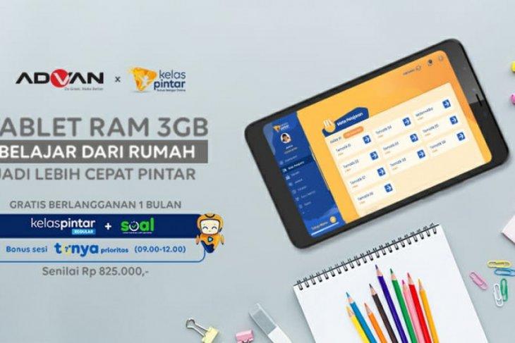 Advan luncurkan tablet pintar dukung belajar dari rumah