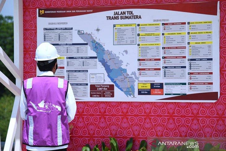 Banda Aceh - Sigli road: Daily traffic volume seen at 3,000 vehicles