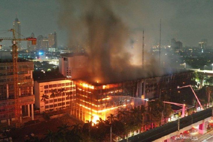DPR: Polri harus terbuka usut kebakaran Gedung Kejagung