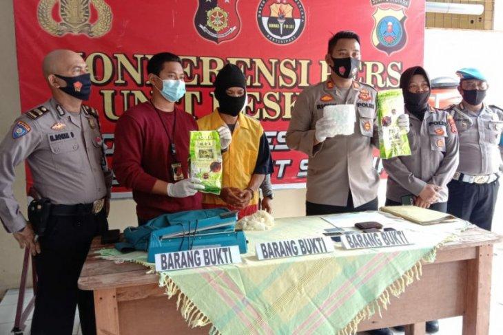 Polisi ringkus eks napi pengedar narkoba di Medan