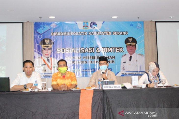 Kemenkominfo Dorong Diskominfosatik Kabupaten Serang Tingkatkan Sosialisasi TIK