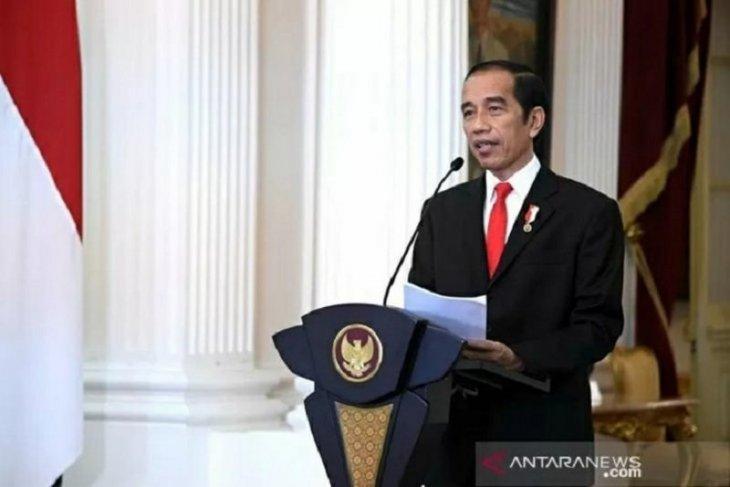 Presiden Jokowi terbitkan inpres  disiplin protokol kesehatan