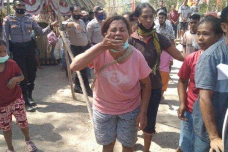 Puluhan warga Besipae tolak kesepakatan yang dibuat Pemprov NTT