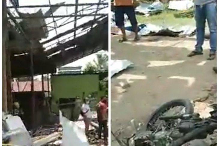 Tiga meninggal 10 luka-luka akibat tabung gas meledak di Hamparan Perak Deli Serdang