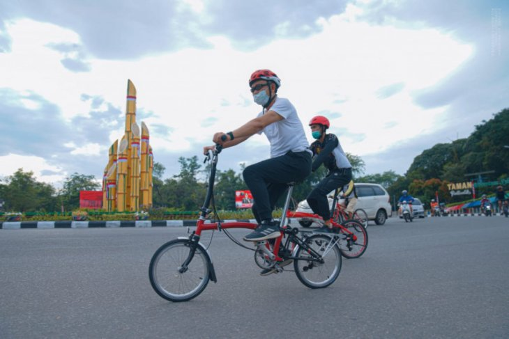 Wali Kota Pontianak imbau ASN gunakan sepeda ke kantor
